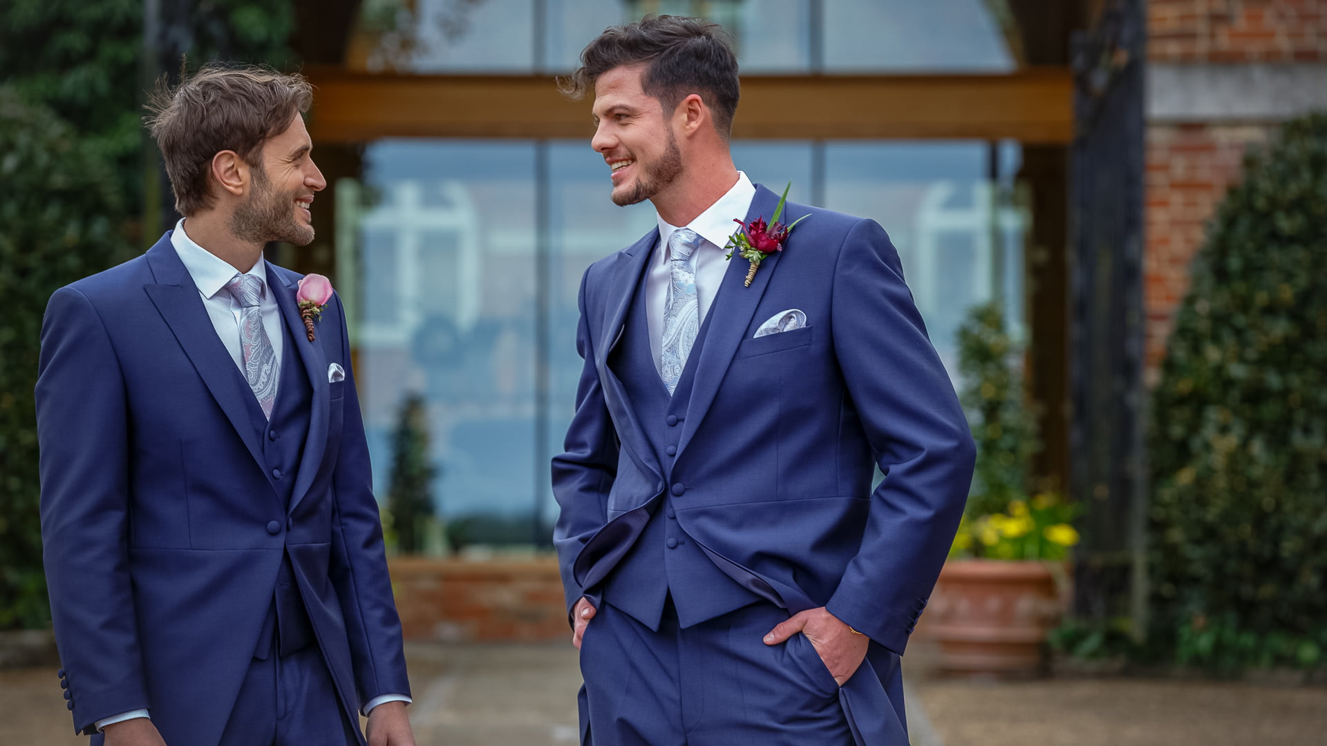 Perfect Wedding Suit Hire Exeter Pattern - Colorful Wedding Dress ...