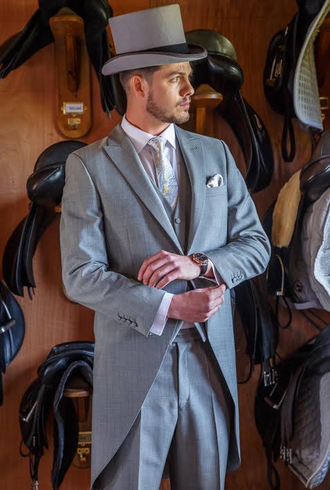 Windsor Premium Grey Morning Suit