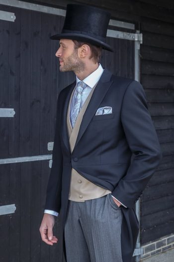 Ascot Premium Black Morning-Suit