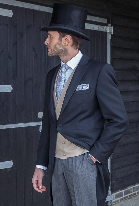 Ascot Premium Black Morning-Suit