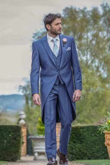 Avant Garde Grooms Airforce Blue Morning suit
