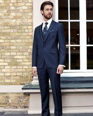 Gallant Premium Navy Made to Order Suit