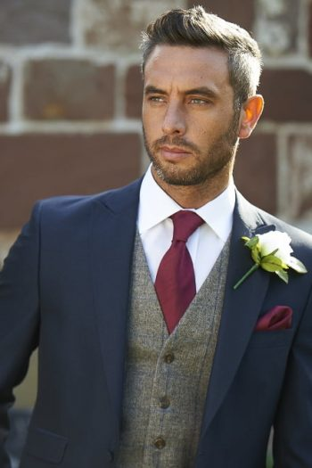Uppington Navy Groomsman Suit