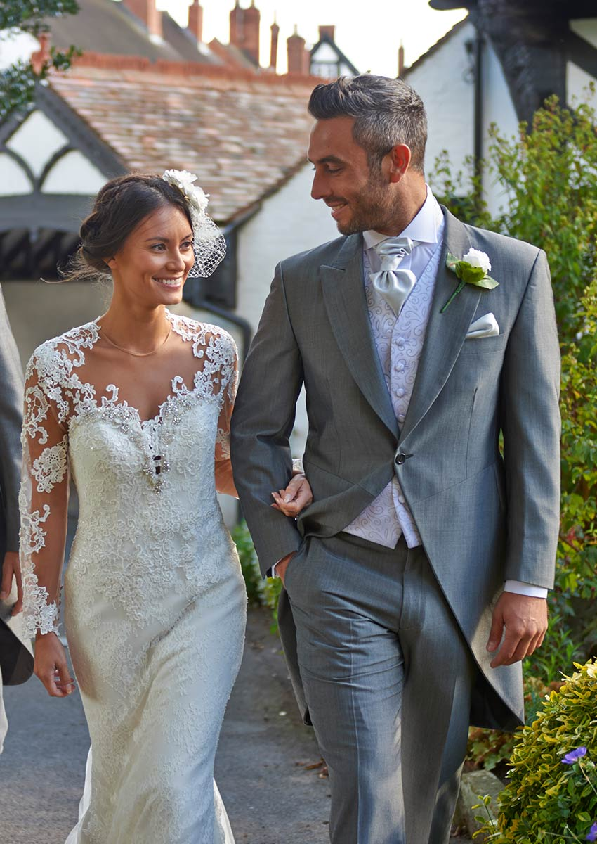Robust Silver Grey Morning Suit