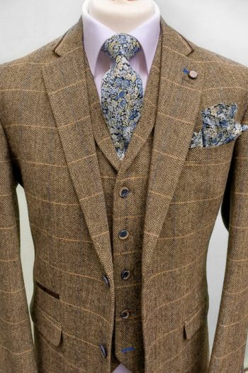 Brown-Tweed-Grooms-Suit-cavani-albert-united-kingdom