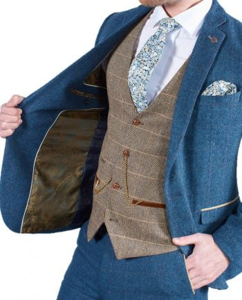 MARC-DARCY-DION-TWEED-SUIT-TED-BROWN-WAISTCOAT