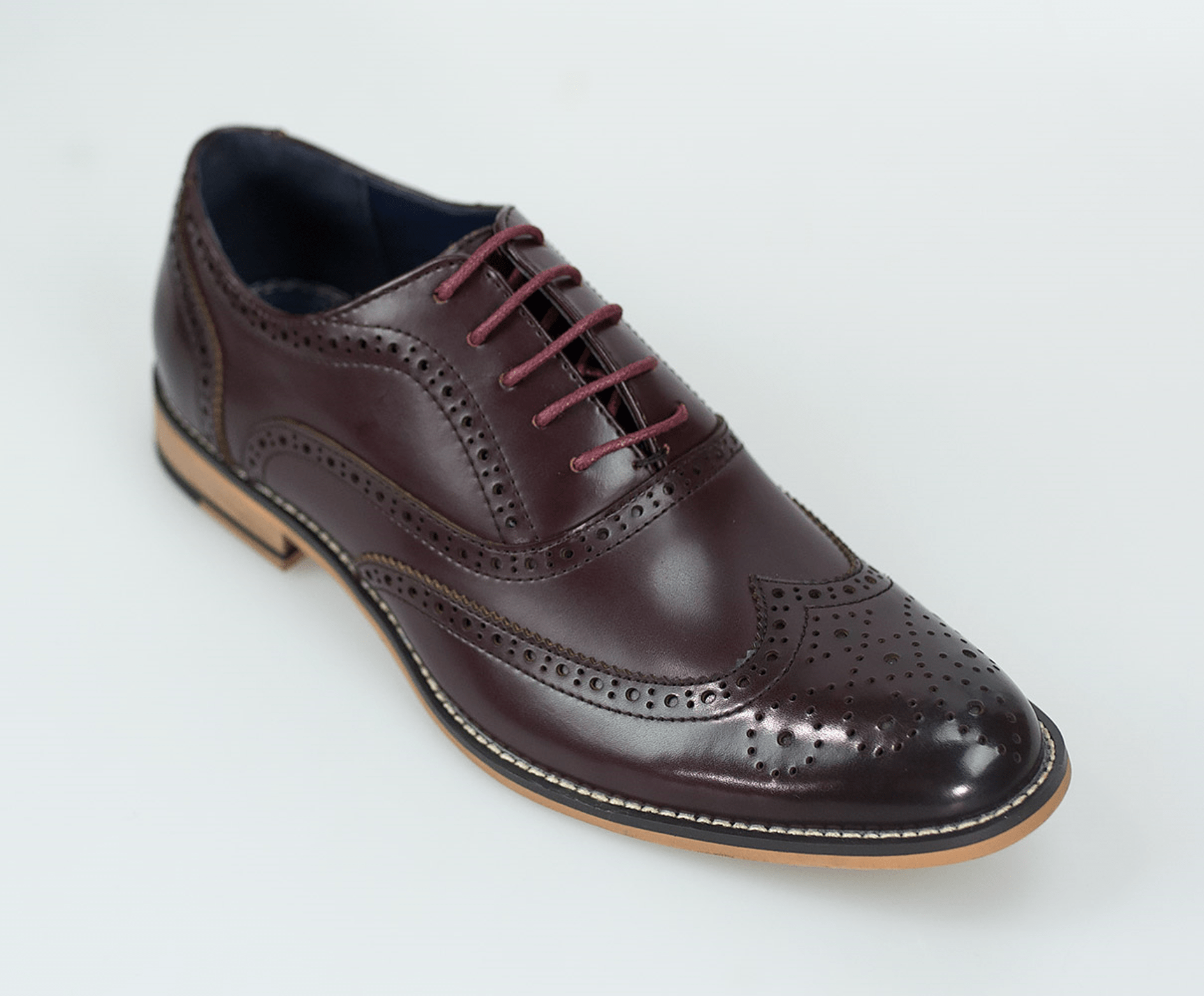 Cavani Oxford Wine Shoes