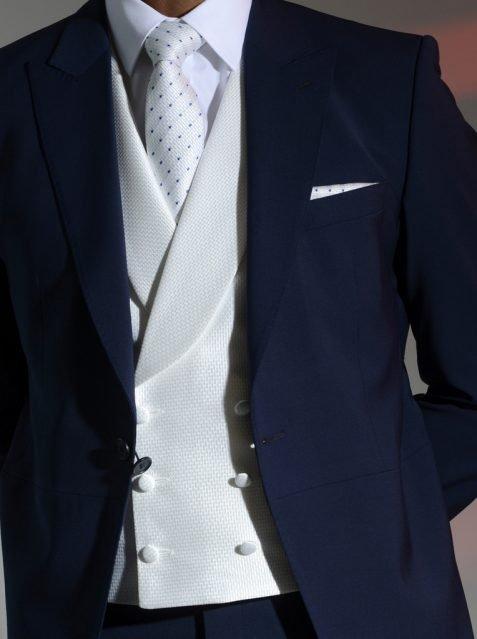 Ivory Elite Double Breasted Waistcoat