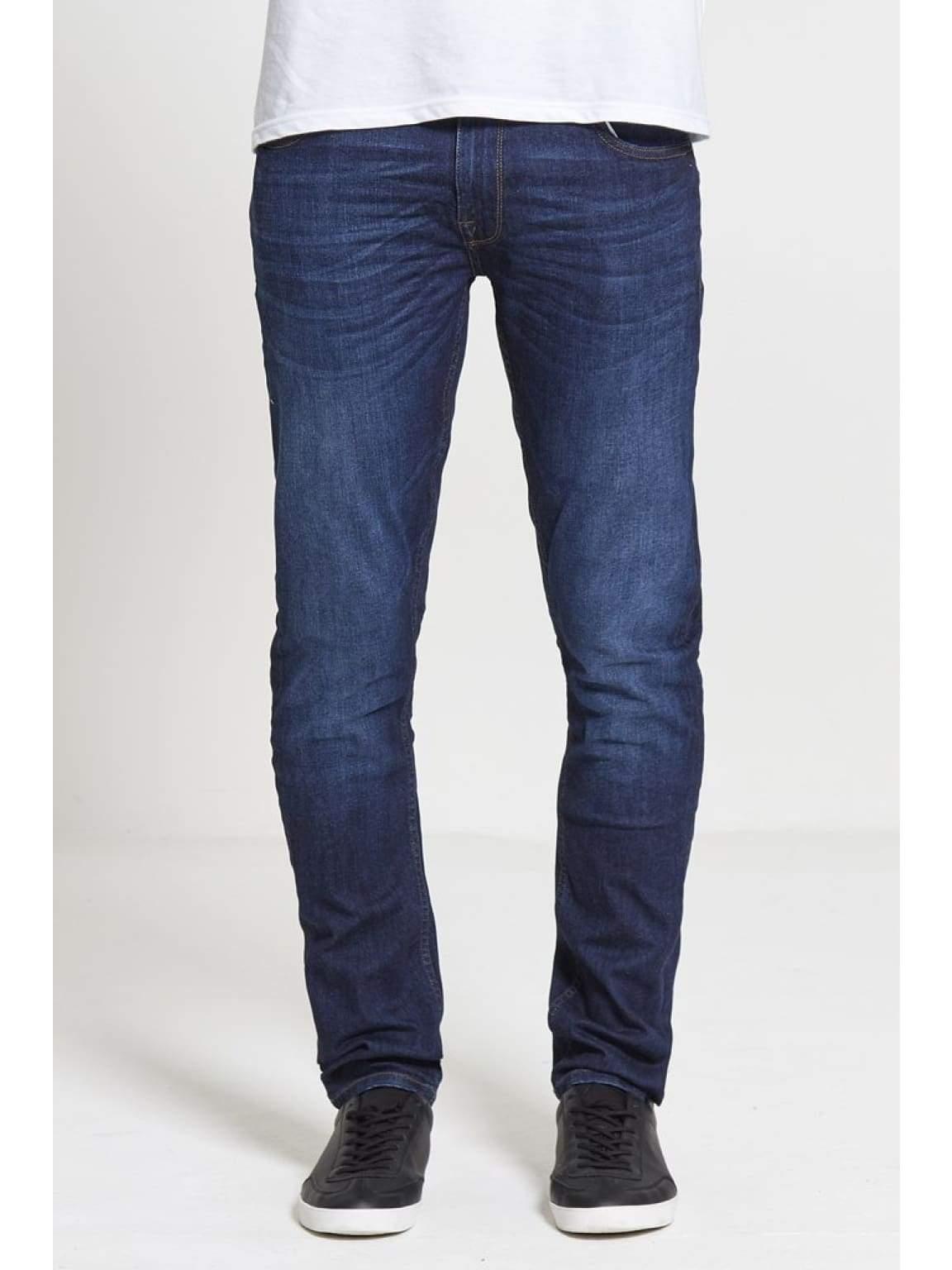 ACE Slim Stretch Jeans In Dark Wash - Jeans
