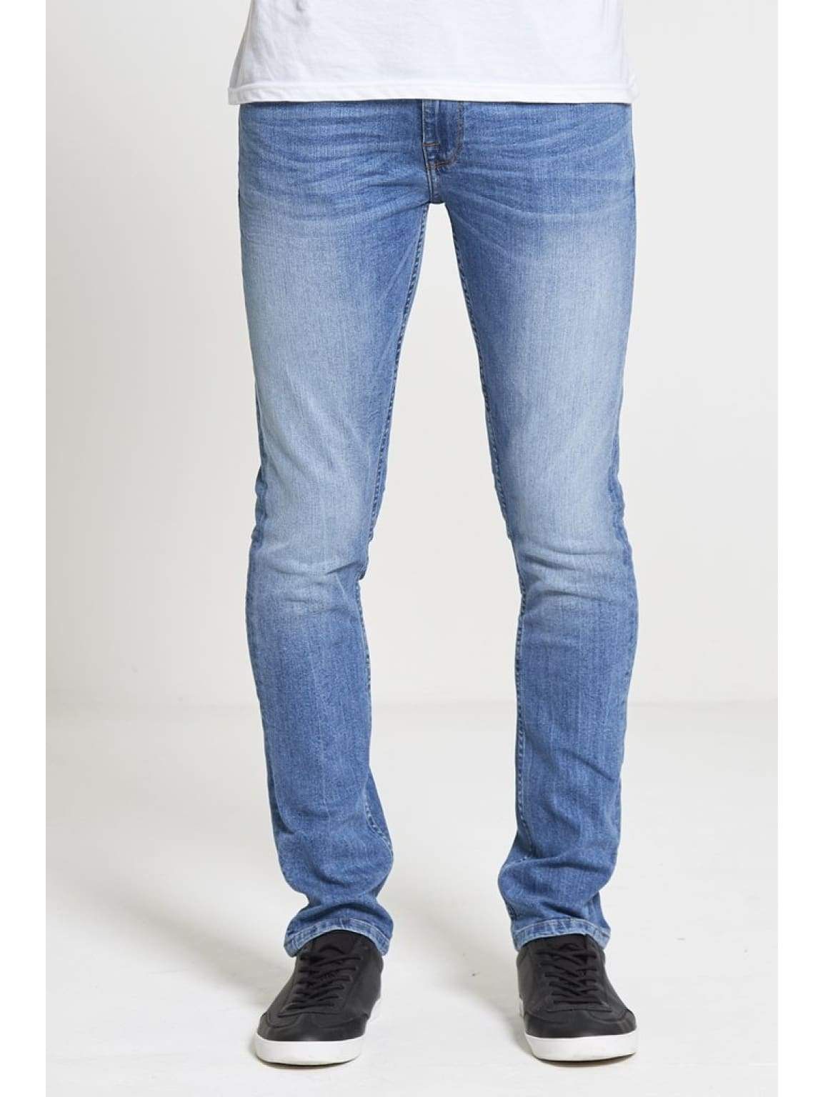 ACE Slim Stretch Jeans In Light Wash - Jeans