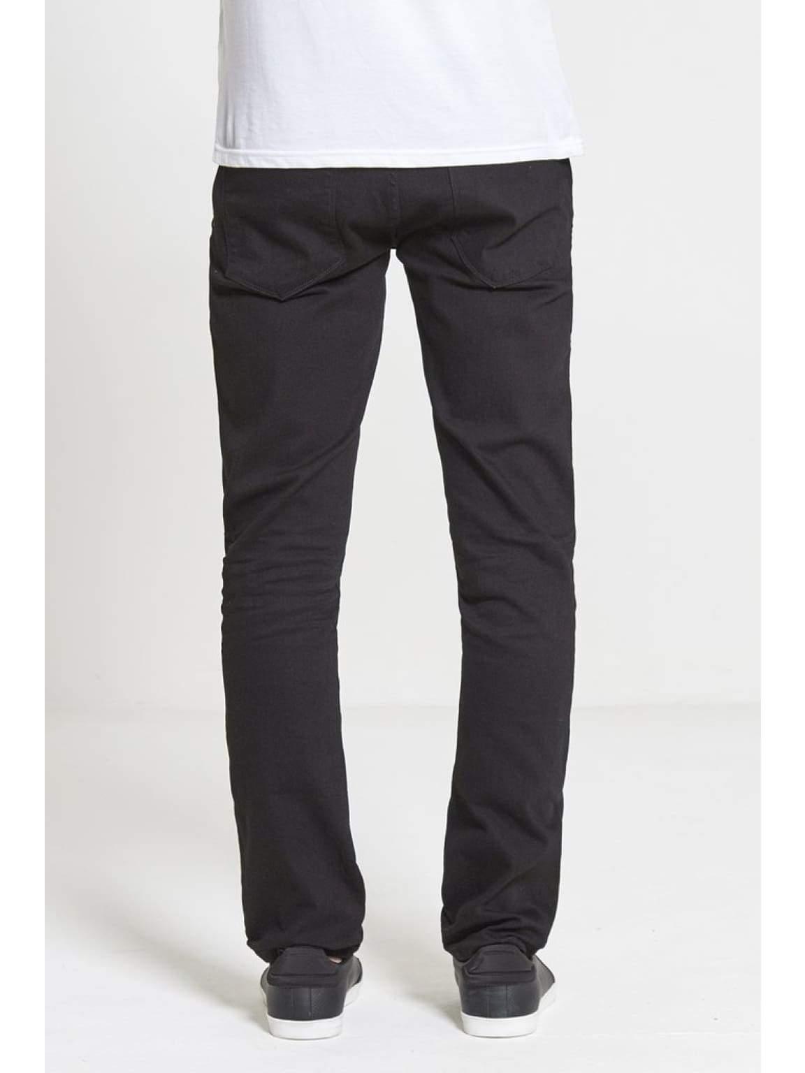 ACE Slim Stretch Jeans In True Black - Jeans
