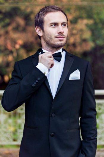 Bond Dinner Suit Package Hire - Jacket 36 | Trousers 30 | Shirt 14.5 - Suit & Tailoring