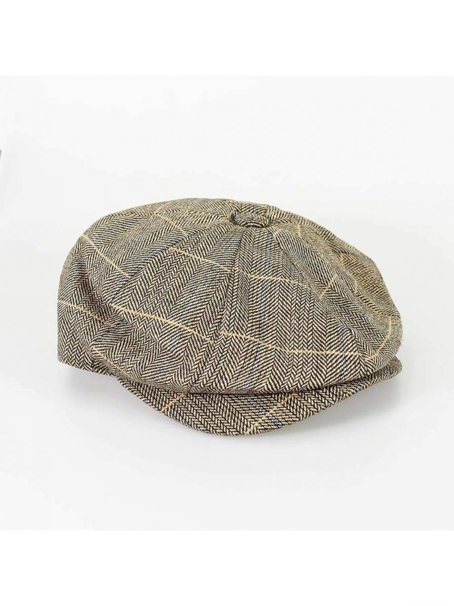 Cavani Albert Brown Baker Cap - Accessories