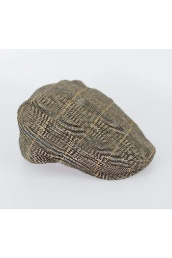 Cavani Albert Brown Flat Cap - S/M - Accessories