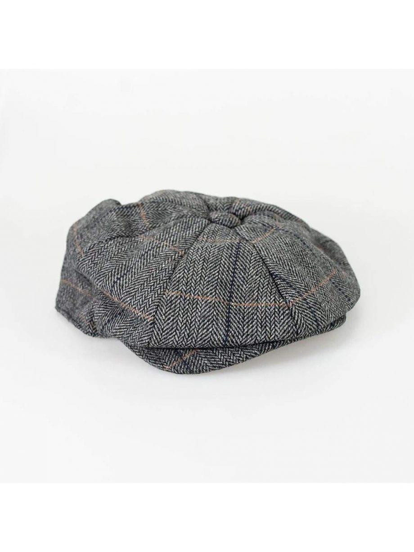 Cavani Albert Grey Baker Cap - S/M - Accessories
