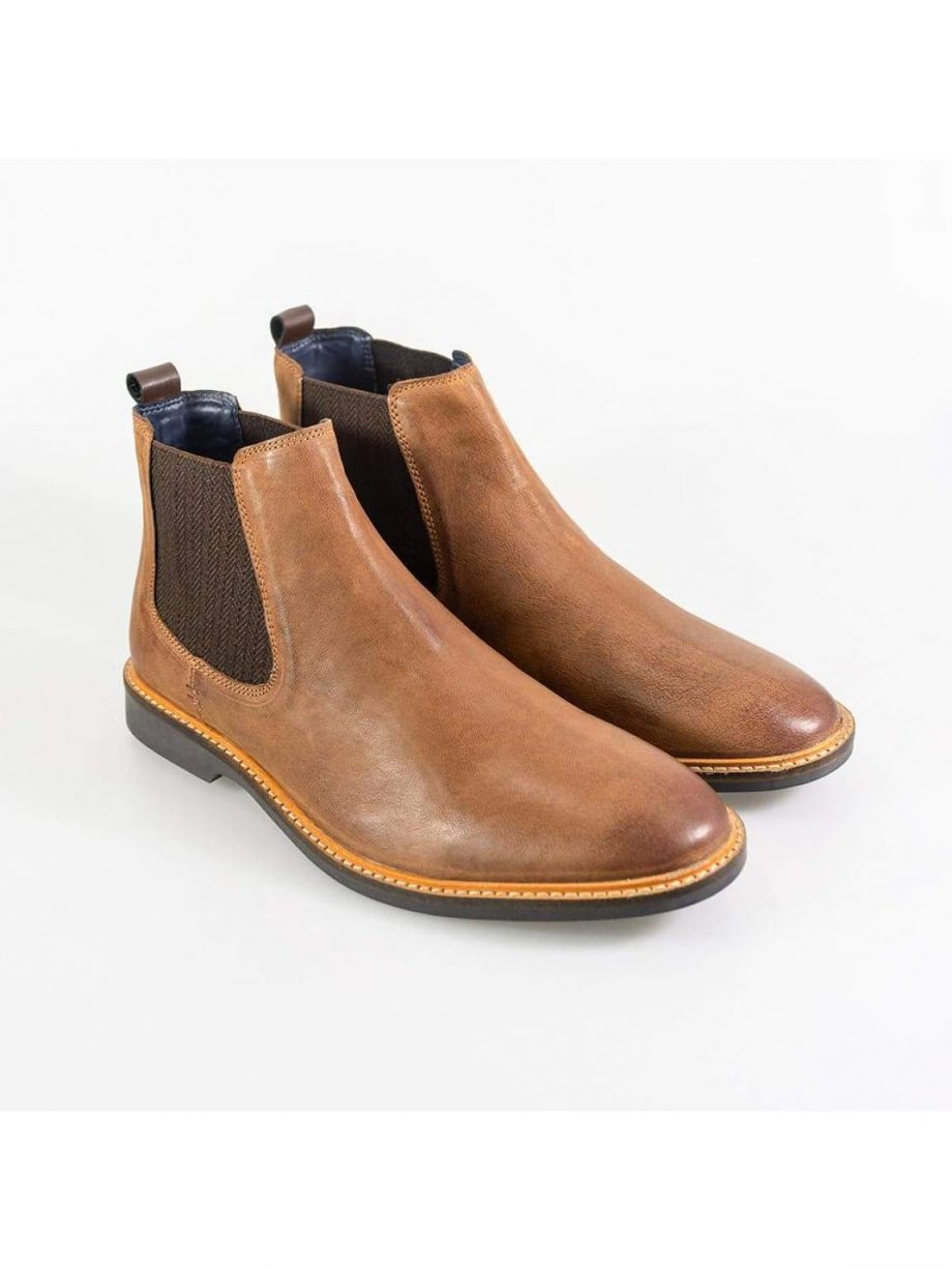 Cavani Arizona Tan Mens Boots - Boots