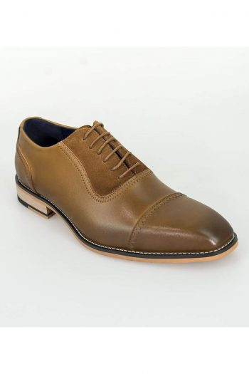 Cavani Arkin Tan Leather Shoes - UK7 | EU41 - Shoes