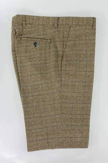 Cavani Ascari Tweed Slim Fit Trousers - 30 - Suit & Tailoring