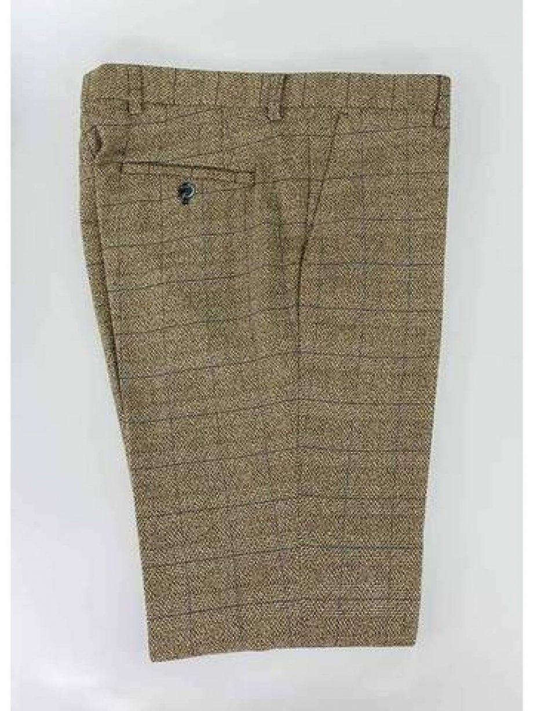 Cavani Ascari Tweed Slim Fit Trousers - 30 - Suit & Tailoring