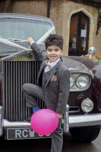 Cavani Boys Albert 3 Piece Grey Slim Fit Check Tweed Suit - 1 YEAR - Suit & Tailoring