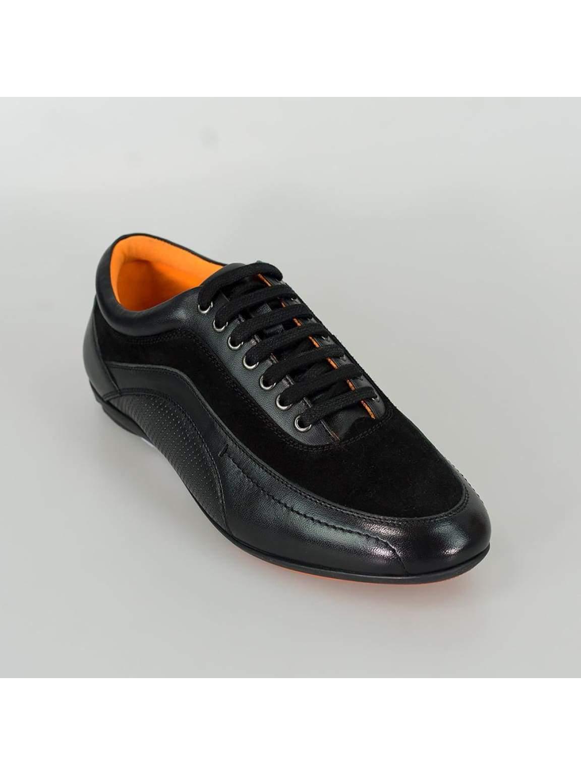 Cavani Brad Men's Black Fashion Shoes
