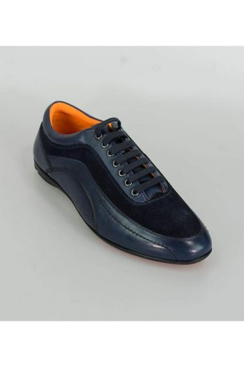 Cavani Brad Mens Navy Fashion Shoes - Shoes