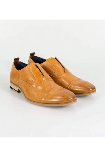 Cavani Carlotta Mens Tan Shoe - Shoes