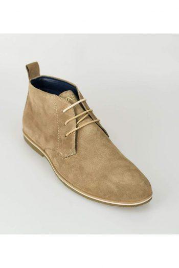 Cavani Desert Mens Tan Suede Boots - Boots