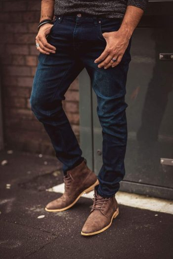 Cavani Elliot Navy Jeans - 30S - Jeans