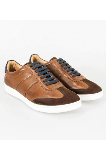 Cavani Event Tan Trainers - UK7 | EU41 - Shoes