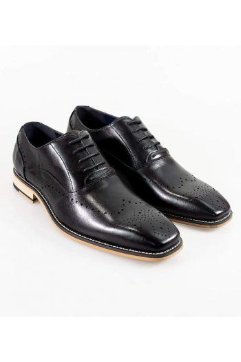 Cavani Fabian Mens Black Shoe - UK7 | EU41 - Shoes