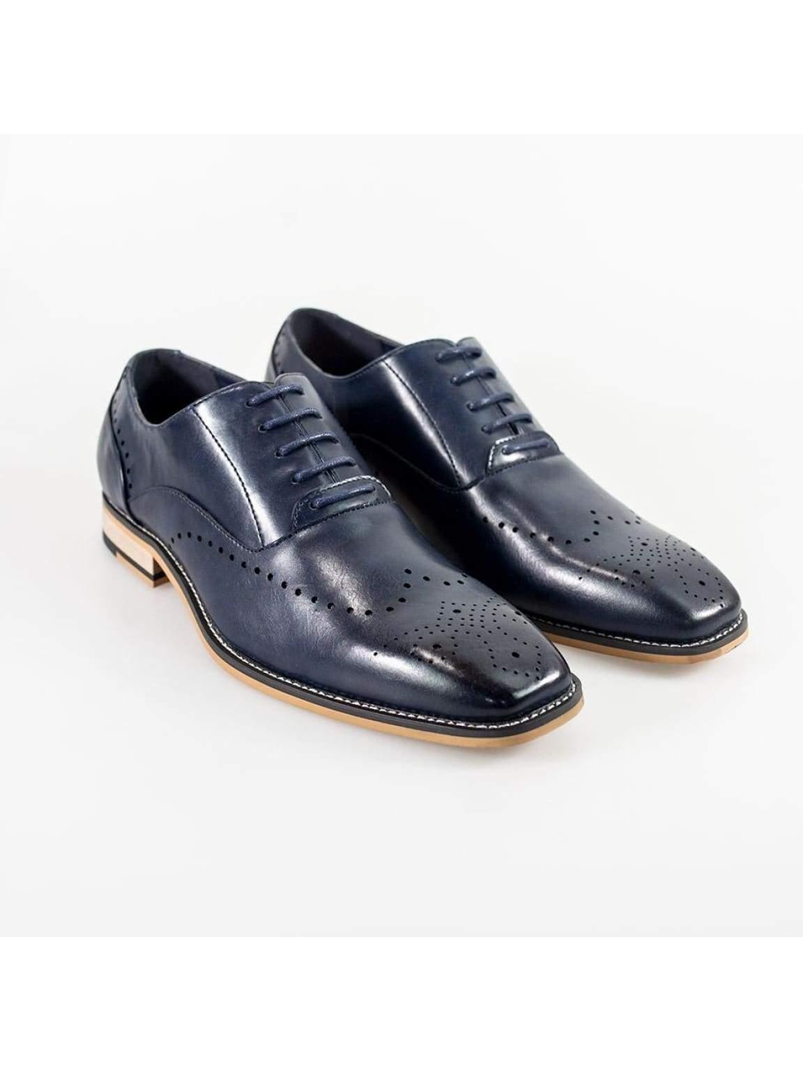 Cavani Fabian Mens Navy Shoe - UK7   EU41 - Shoes