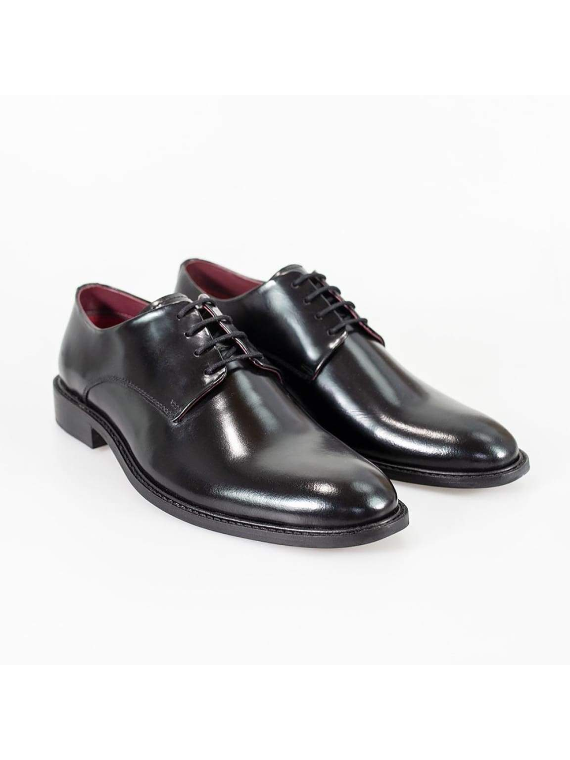 Cavani Foxton Black Shoe - UK7 | EU41 - Shoes