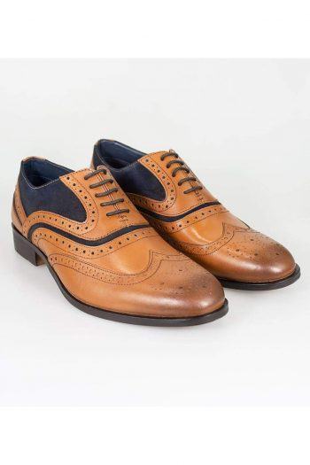 Cavani Harry Tan Shoe - UK7 | EU41 - Shoes