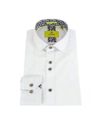Cavani Hudson Mens White Shirt - S - Shirts