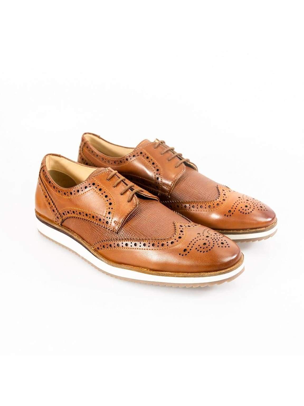Cavani Mandu Tan Mens Shoe - UK7 | EU41 - Shoes