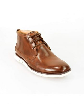 Cavani Napal Tan Mens Leather Boots - UK7 | EU41 - Boots