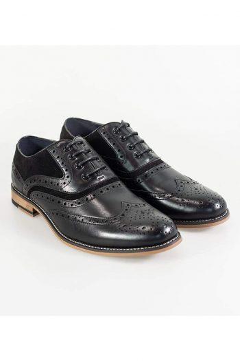 Cavani New Ethan Mens Black/Black Shoe - UK7 | EU41 - Shoes