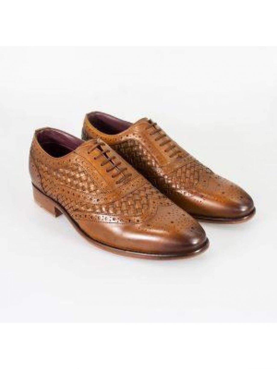 Cavani Orion Tan Mens Leather Shoes - UK7 | EU41 - Shoes