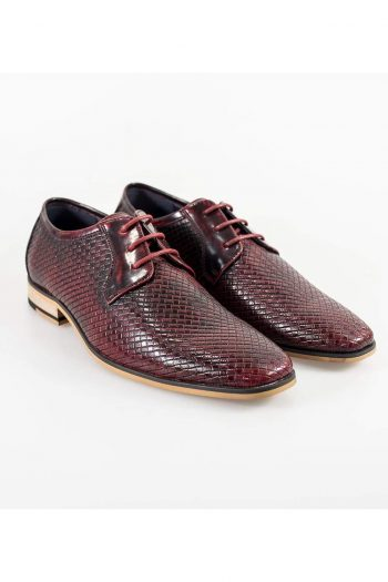 Cavani Rex Burgundy Formal Shoe - UK7 | EU41 - Shoes