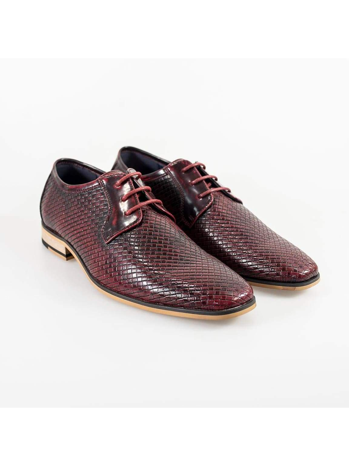Cavani Rex Burgundy Formal Shoe - UK7 | EU41 - Shoes