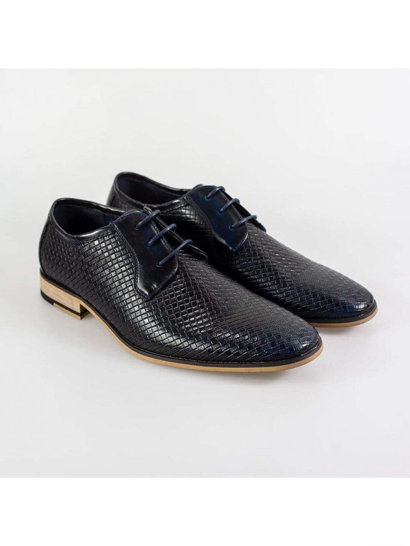 Cavani Rex Navy Formal Shoe - UK7   EU41 - Shoes