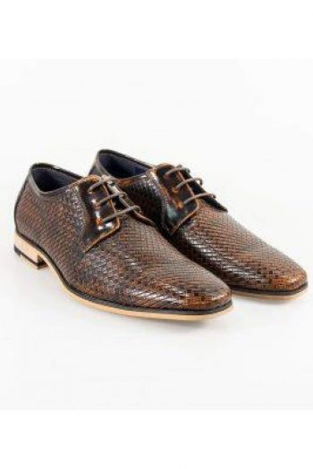 Cavani Rex Tan Formal Shoe - UK7 | EU41 - Shoes