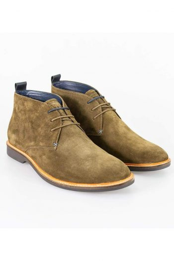 Cavani Sahara Khaki Mens Leather Boots - UK7 | EU41 - Boots