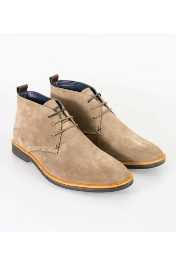 Cavani Sahara Sand Mens Leather Boots - UK7 | EU41 - Boots