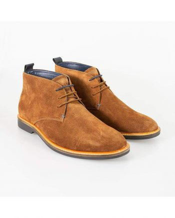 Cavani Sahara Tobacco Mens Leather Boots - UK7 | EU41 - Boots
