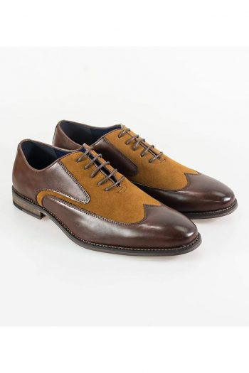 Cavani Tate Brown/Tan Mens Shoe - UK7 | EU41 - Shoes