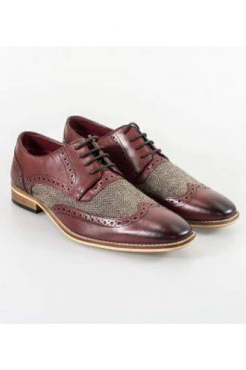 Cavani William Bordo Mens Shoes - UK7 | EU41 - Shoes