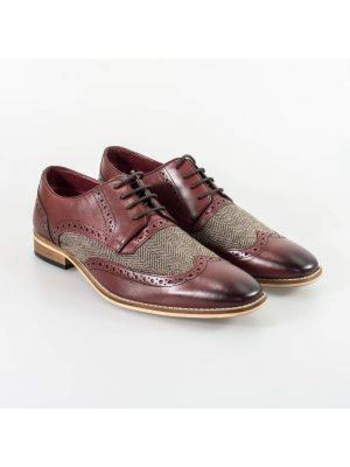 Cavani William Bordo Mens Shoes - UK7 | EU41 - Shoes