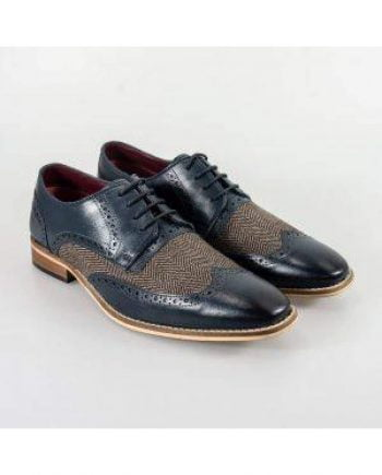 Cavani William Grey/Blue Mens Shoes - UK7 | EU41 - Shoes